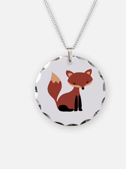 Fox Animal Necklace