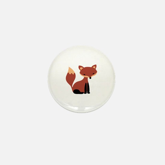 Fox Animal Mini Button
