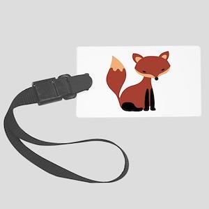 Fox Animal Luggage Tag