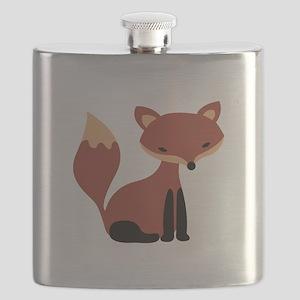 Fox Animal Flask