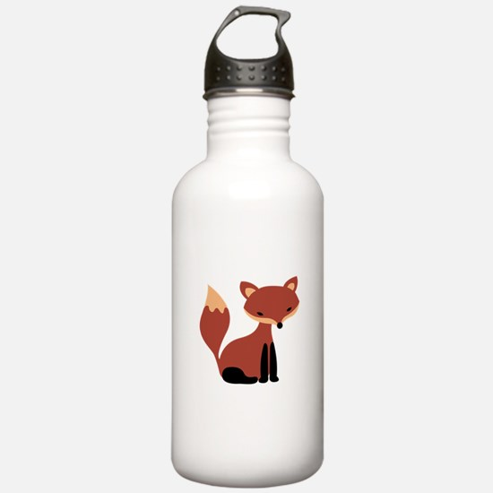 Fox Animal Water Bottle