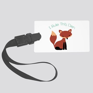 I Rule This Den Luggage Tag
