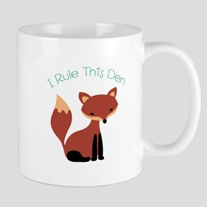 I Rule This Den Mugs