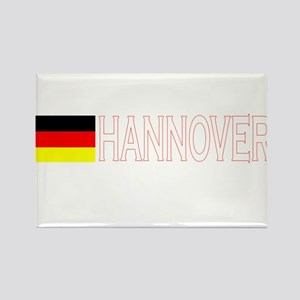 Hannover, Germany Rectangle Magnet