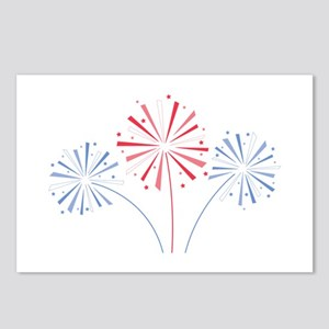 July Fourth Fireworks Postcards (Package of 8)