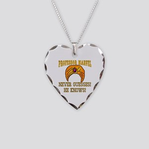 Professor Marvel Necklace Heart Charm