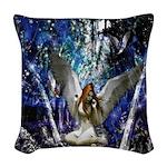 Fairy Woven Throw Pillow
