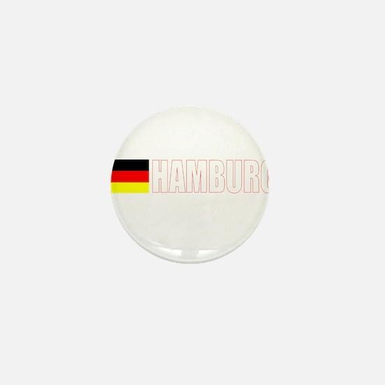 Hamburg, Germany Mini Button