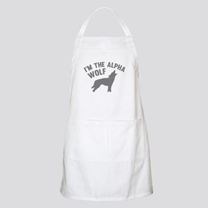 I'm The Alpha Wolf Apron