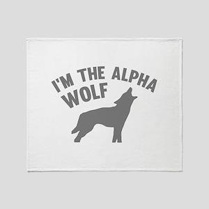 I'm The Alpha Wolf Stadium Blanket