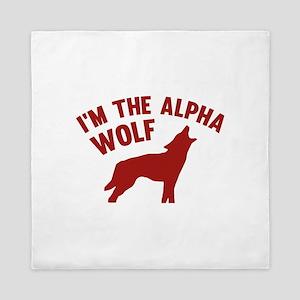 I'm The Alpha Wolf Queen Duvet