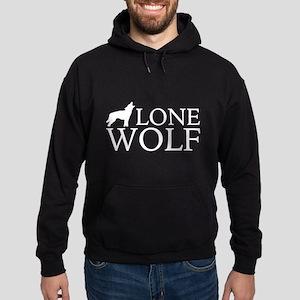 Lone Wolf Hoodie (dark)