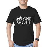 Wolves Fitted Dark T-Shirts