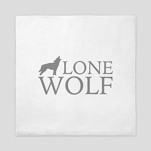 Lone Wolf Queen Duvet