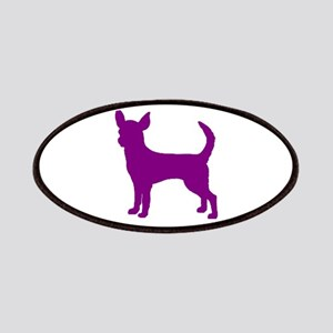 chihuahua purple 1C Patches
