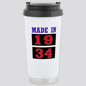 Made In 1934 16 oz Stainless Steel Travel Mug