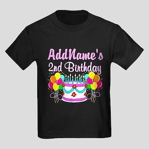 AWESOME 2 YR OLD Kids Dark T-Shirt