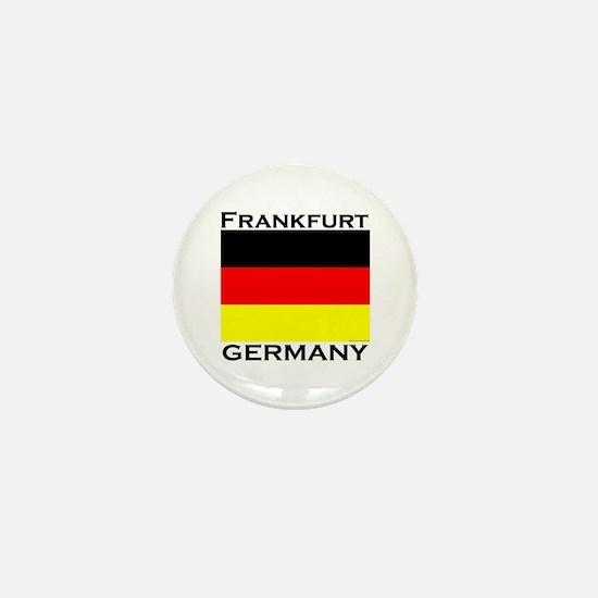 Frankfurt, Germany Mini Button