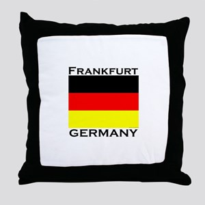 Frankfurt, Germany Throw Pillow