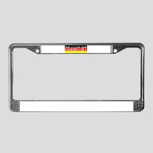 Frankfurt, Germany License Plate Frame