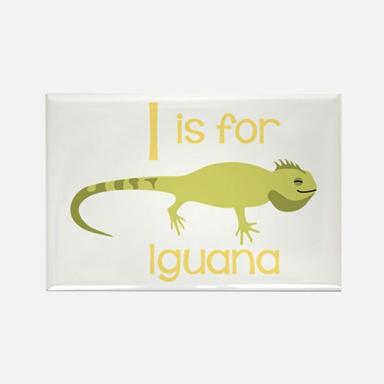 I Is For Iguana Magnets