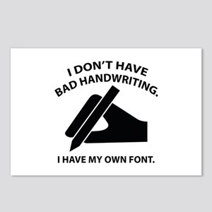 I Have My Own Font Postcards (Package of 8)