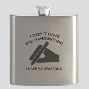 I Have My Own Font Flask