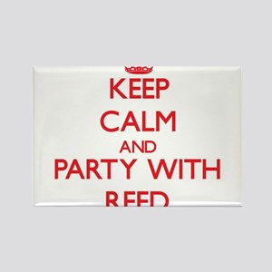 Keep calm and Party with Reed Magnets