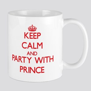 Keep calm and Party with Prince Mugs