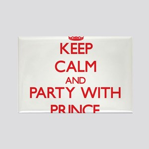 Keep calm and Party with Prince Magnets