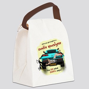 In the Trunk Canvas Lunch Bag