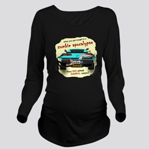 In the Trunk Long Sleeve Maternity T-Shirt