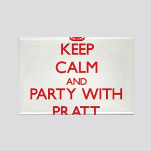 Keep calm and Party with Pratt Magnets