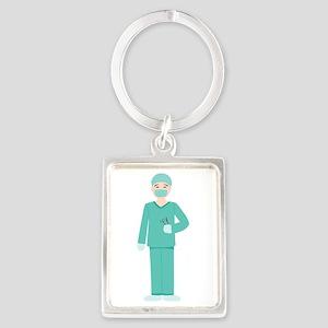 Male Surgeon Keychains