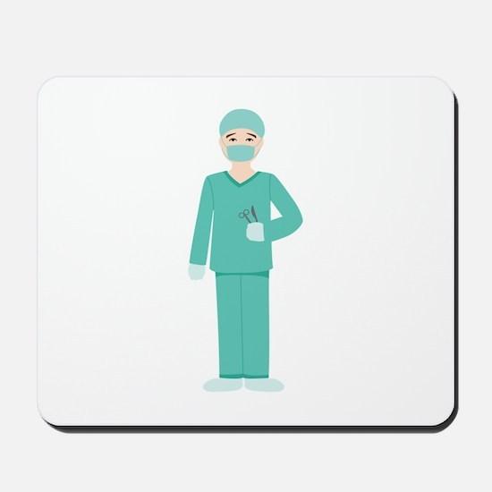 Male Surgeon Mousepad