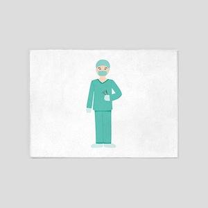 Male Surgeon 5'x7'Area Rug