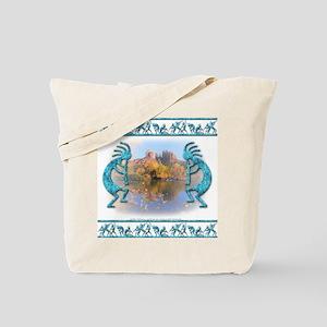 Kokopelli #9 Tote Bag