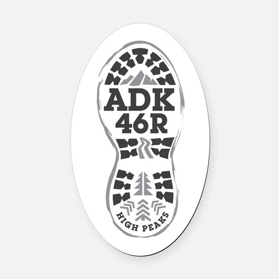 ADK Oval Car Magnet