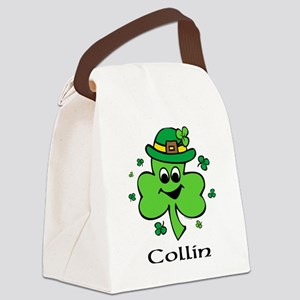 Personalized Wee Bit O'Irish Canvas Lunch Bag