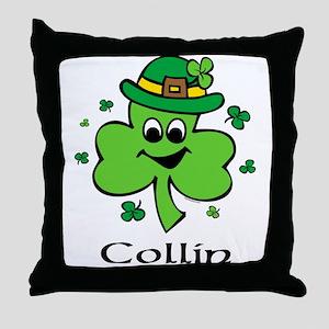 Personalized Wee Bit O'Irish Throw Pillow