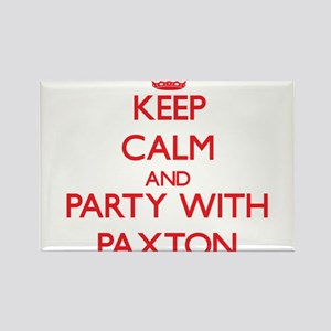 Keep calm and Party with Paxton Magnets
