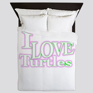 love turtles Queen Duvet