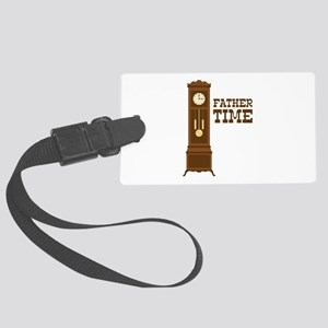 Father Time Luggage Tag