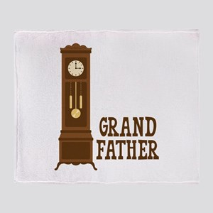 Grand Father Throw Blanket
