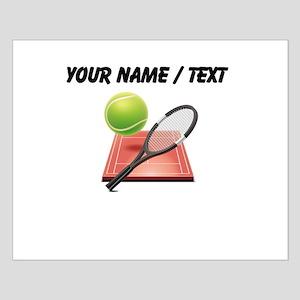 Custom Tennis Icon Posters