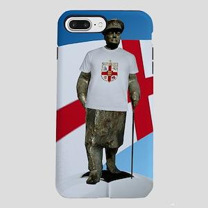Churchill England Soccer iPhone 7 Plus Tough Case