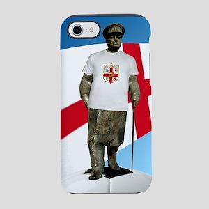 Churchill England Soccer iPhone 7 Tough Case