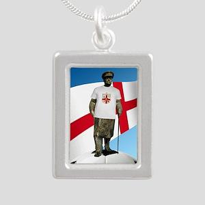 Churchill England Soccer Necklaces