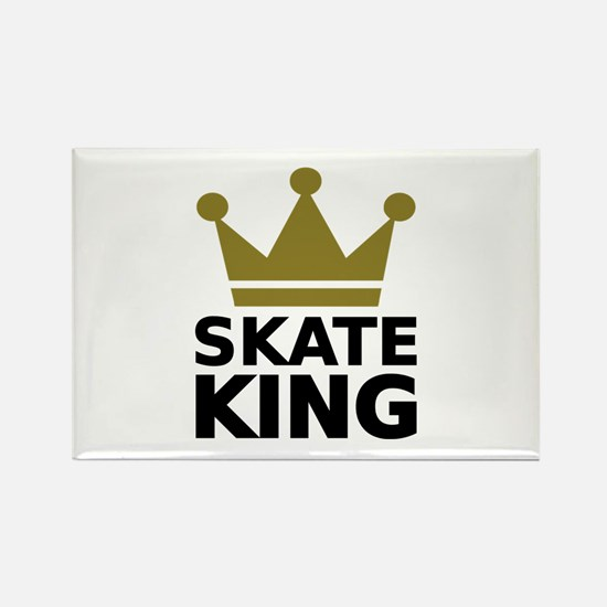 Skate king Rectangle Magnet