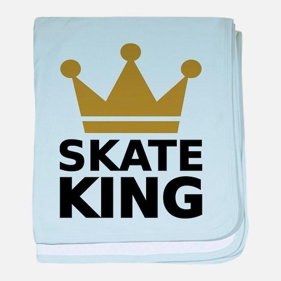 Skate king baby blanket
